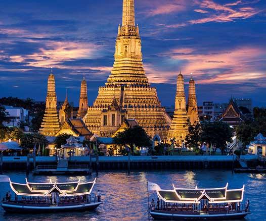 Où aller à Thaïlande
